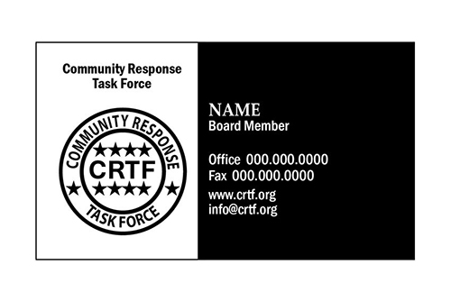 CRTF Business Card