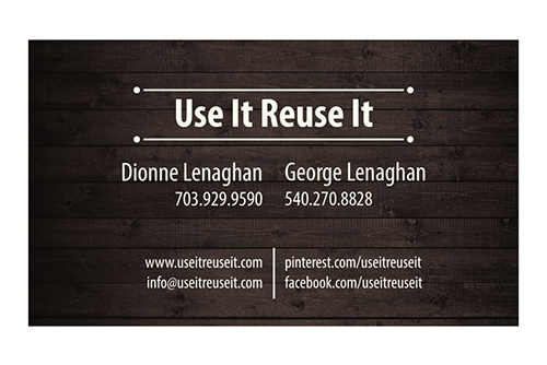 Use It Reuse It Business Card
