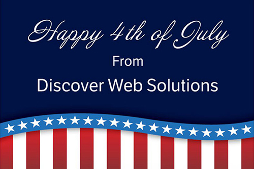 Discover Web Solutions Postcard
