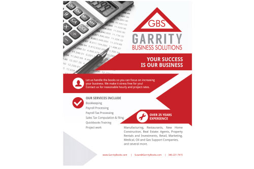 Garrity Business Solutions Flyer
