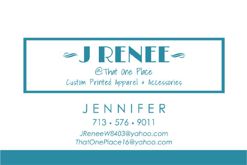 J Renee Business Card