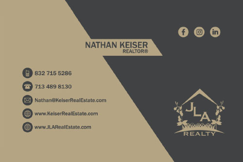 Keiser Real Estate Business Card
