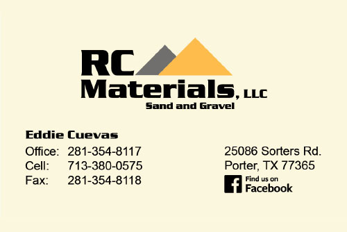RC Materials Business Card